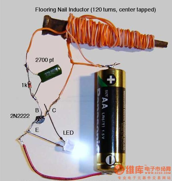 不成熟的电感升压电路,请大家讨论图片