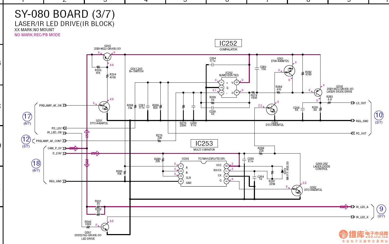 这个电路图那些三极管的作用是什么?