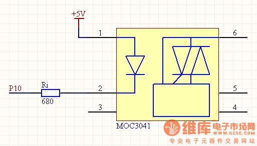 moc3041应用电路