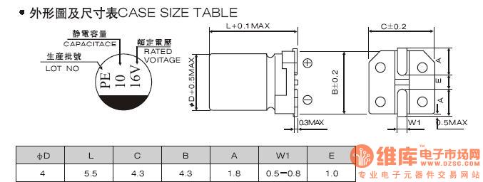 贴片电解电容protel99下用哪种封装?还是要自己画?