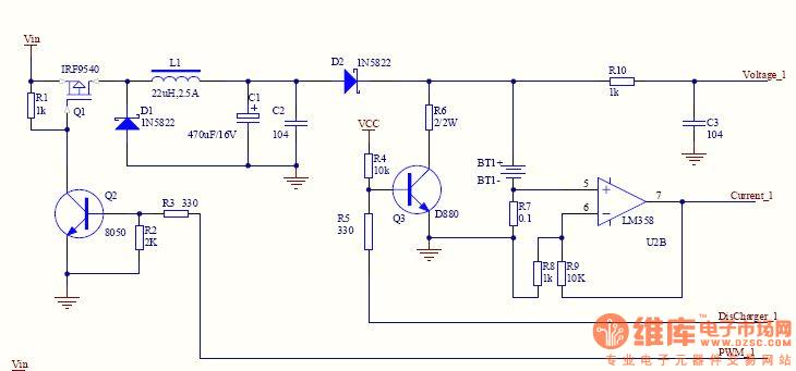 请高手帮我看看这个简单的开关电源电路