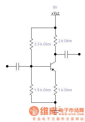 三极管放大两倍电路
