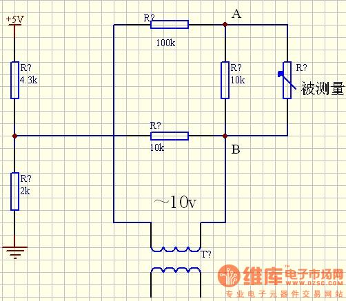 求教方波发生电路