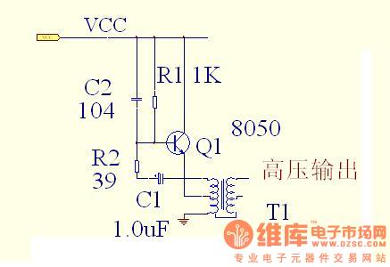 逆变器电路图,怎样计算频率和交流高压?