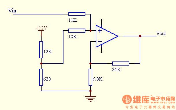 作者: likuifuzi 于 2005-4-9 22:12:00 发布: 结果又出来了!! 第二个电路的实验结果也出来了。它也能达到要求,在输入为0v时输出+1v。只是它的放大倍数和第一个电路不太一样。在调节放大倍数电阻时,当反馈电阻R4(24K)固定,R5(6.8K)要调的比第一个电路小,才能在输入相同时输出也相同。这可能时两者的放大倍数计算公式不一样。能把两者的放大倍数计算公式告诉我吗? 在这里真要谢谢各位的帮忙了,解决了我的一个问题!