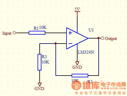 的跟随电路为什么没有电压输入的时候