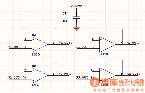 电压跟随器这样做可以吗?
