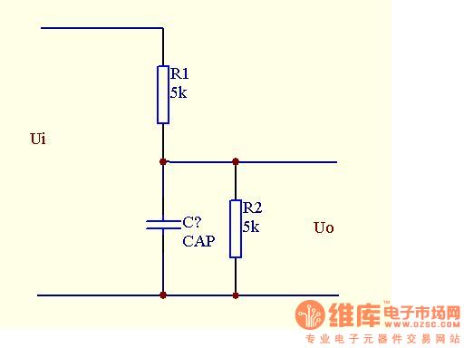 rc延时电路,怎么确定电容参数!