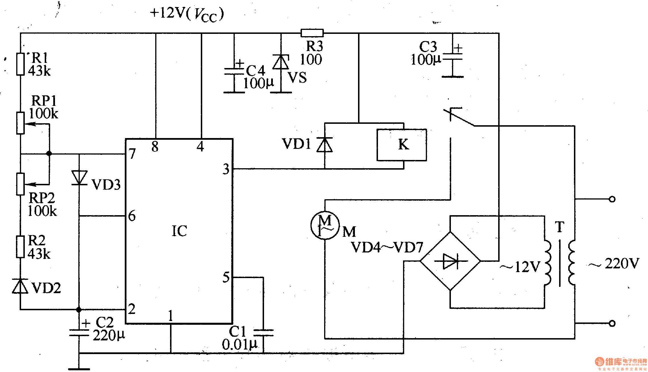 模拟自然风控制器 五