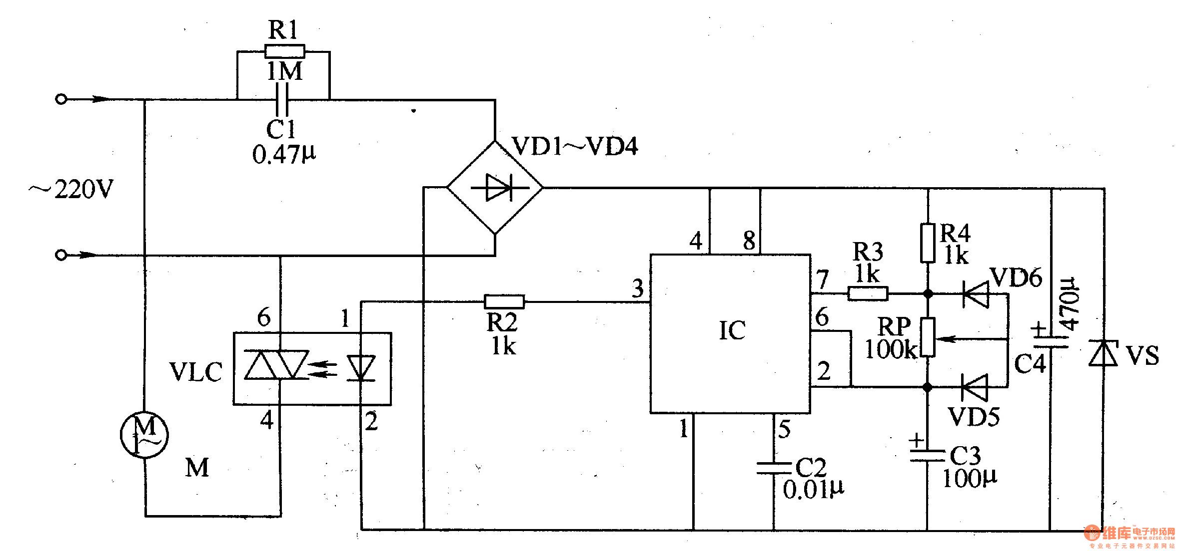 模拟自然风控制器 二