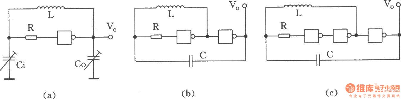 用与非门组成的LC振荡器