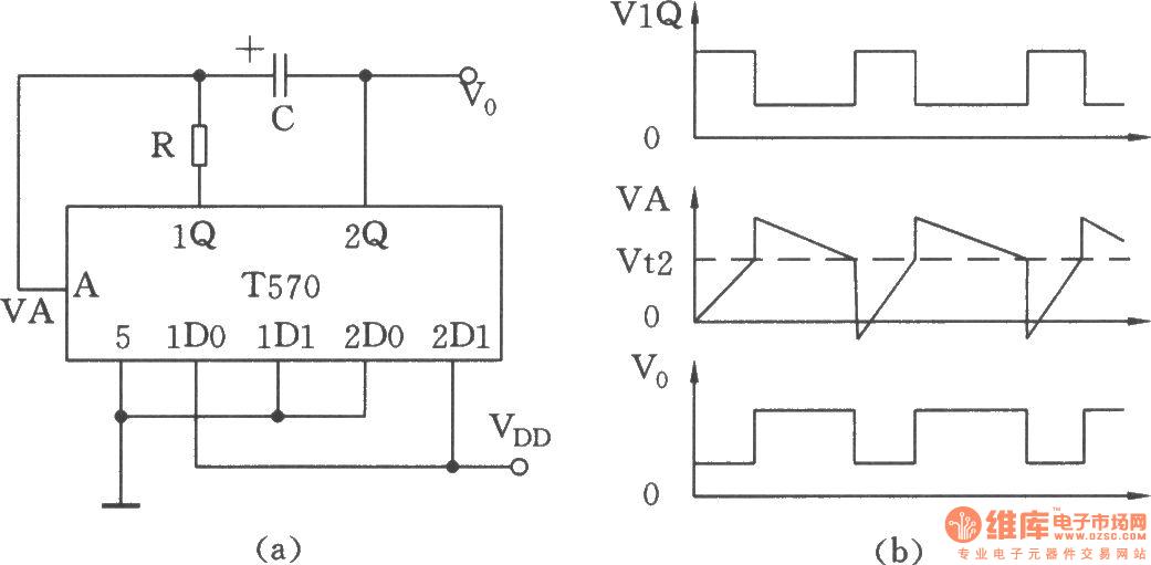 用集成电路构成的振荡器