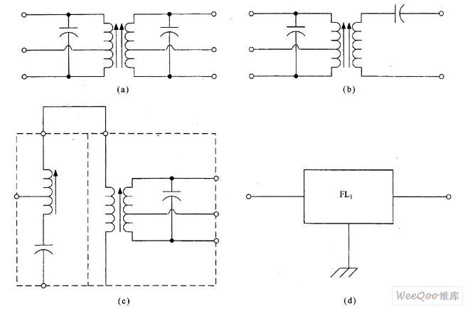 几种用于IF放大器的滤波器电路图