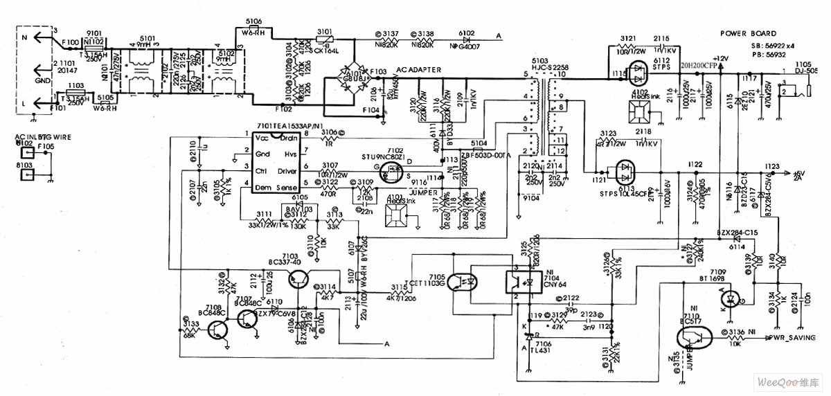 Philips 170b4 U6db2 U6676 U663e U793a U5668 U5f00 U5173 U7535 U6e90 U7535 U8def U56fe