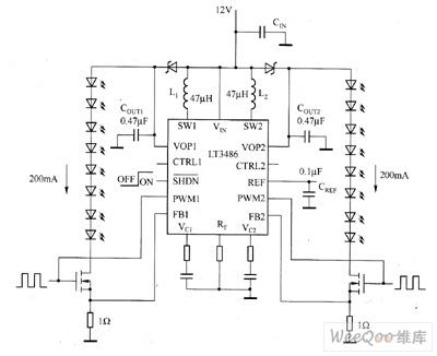 【图】lt3466驱动led电路图led电路