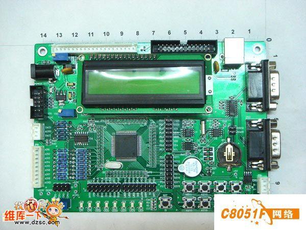 C8051F020DK学习板功能简介
