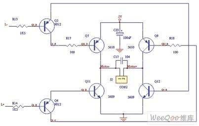 左路马达控制电路图控制电路 电路图 捷配电子市场网图片