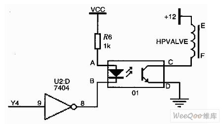 高压天然气截止阀驱动电路图