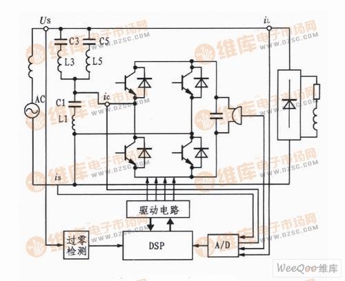 用于有源电力滤波器的IGBT驱动电路图