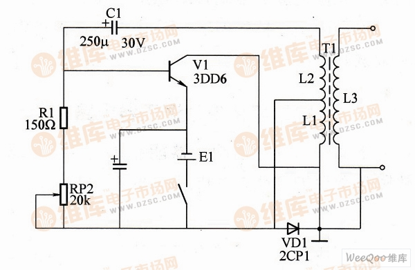 【图】高压提升器电路图控制电路