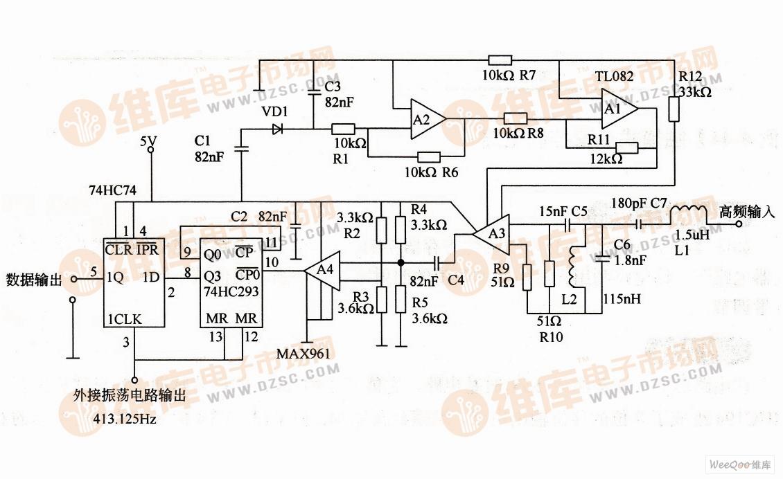 电路 电路图 电子 户型 户型图 平面图 原理图 1130_692