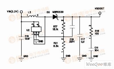 50 200W电源模块的升压电路图图片