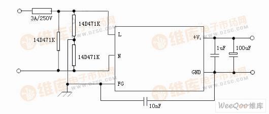 简单的防雷应用方案电路-简单的防雷应用方案电路图其它电路图 电路图片