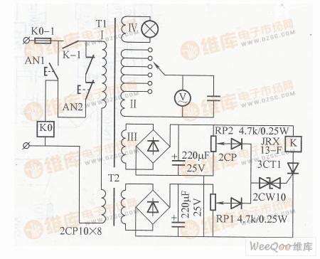 【图】有过电压过电流保护及隔离作用的交流电源电路
