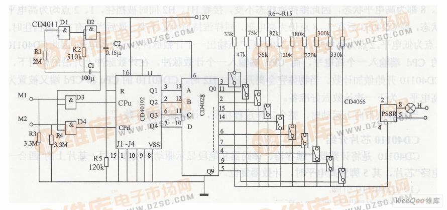 频率检测电路图
