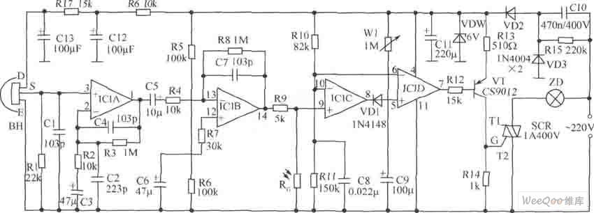 【图】水塔水位控制器电路图控制电路