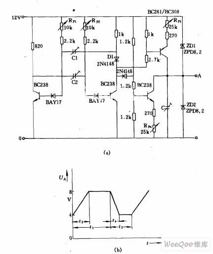 梯形波发生器电路图