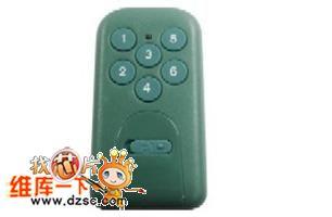 六键遥控器TX6006