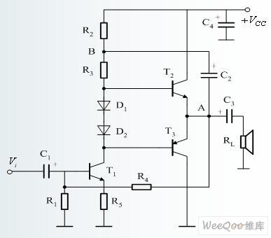 【图】基本互补对称otl功率放大器电路图线性放大