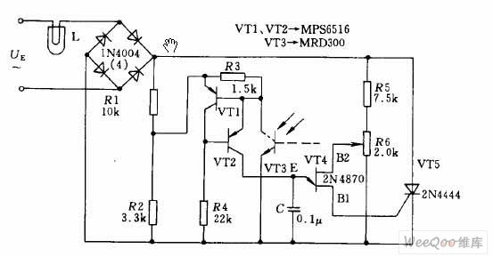 晶闸管交流自动调压稳压电路图图片