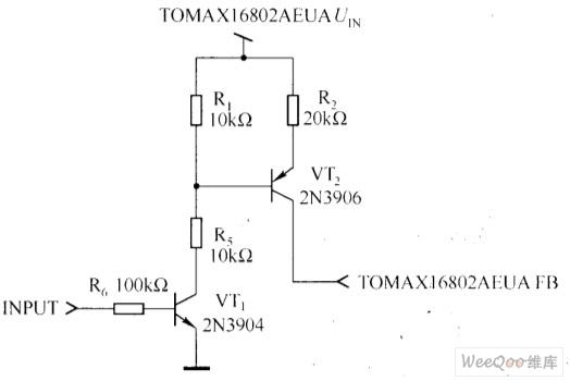 PWM亮度调节电路图