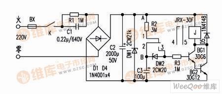 【图】鱼缸充氧控制器电路设计控制电路