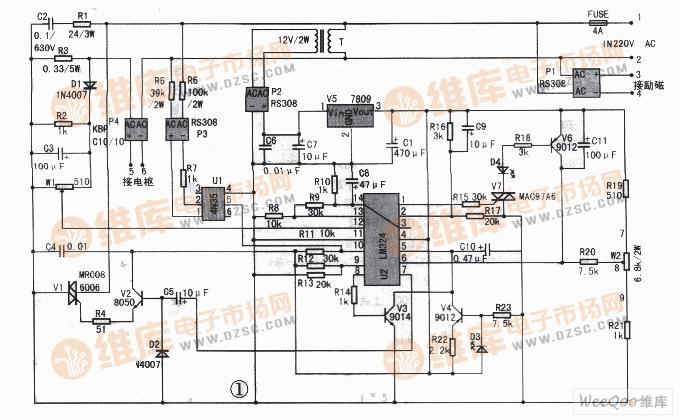 【图】直流电机无级调速电路设计其它电路图高尔夫果岭图纸图片