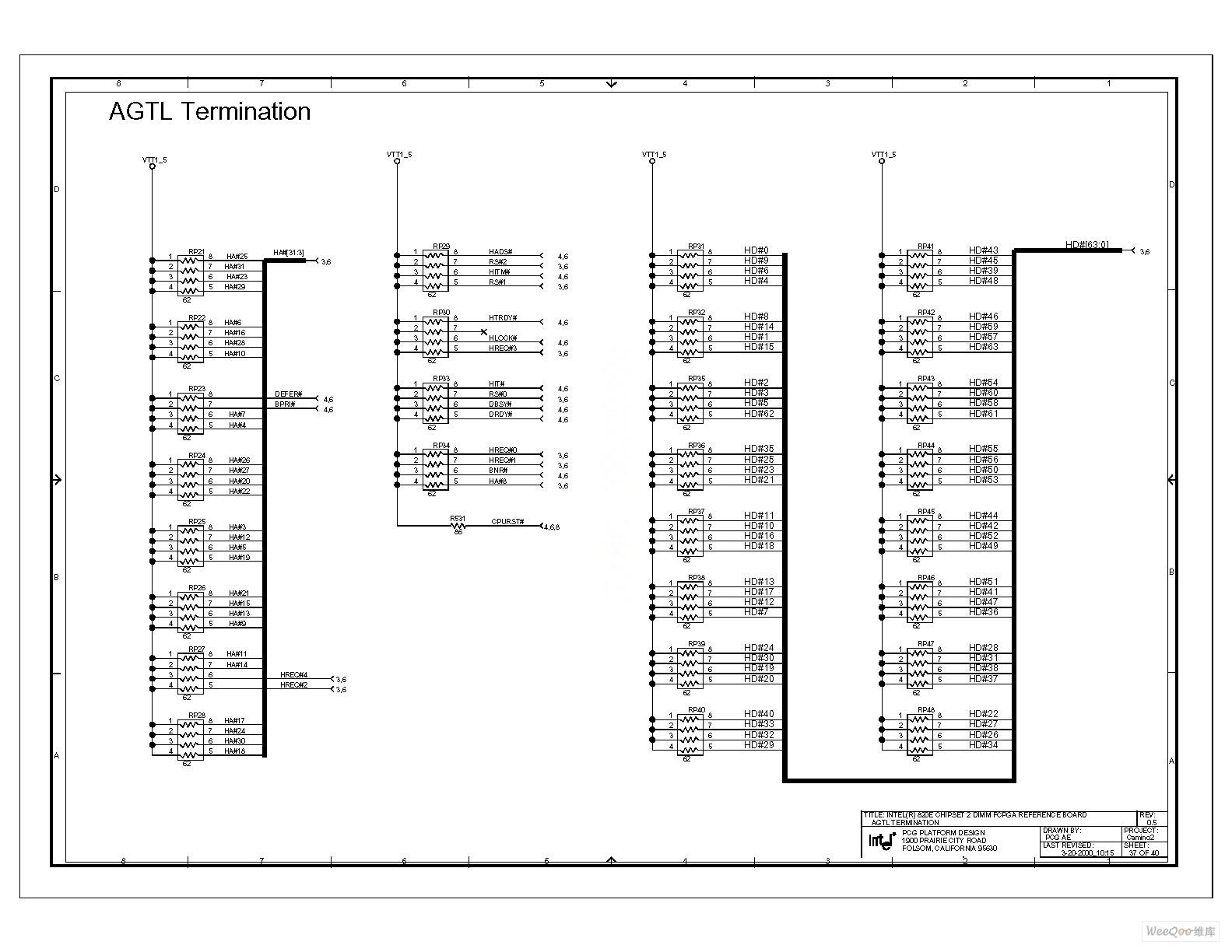 电脑主板电路图 820 2_37
