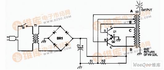 固态特斯拉线圈 高电压发生器电路图基准源 电路图 捷配电子市场网图片