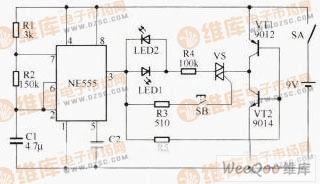 双向晶闸管检测电路图