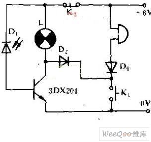 电光式记忆门电路图