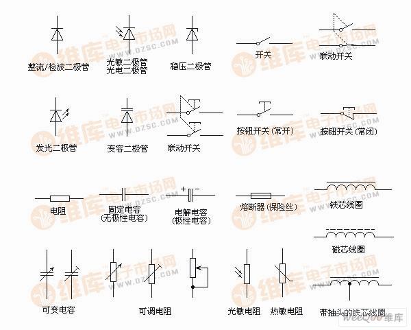 【图】电路图符号大全基础电路
