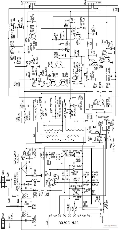D2902_A4开关电源电路图