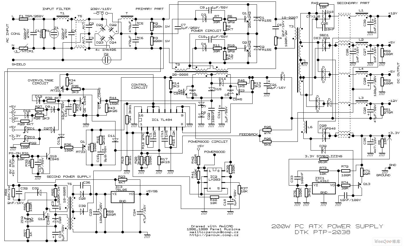 【图】图纸开关电源电路时间电脑图纸电路图报名发放电源电路时清单投标图片