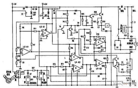 【图】电动车有刷电路控制器饰物v电路电机电TPR电路图片