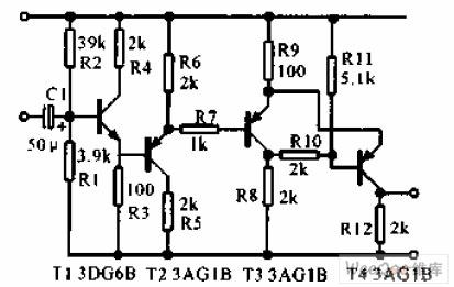 转速传感器直流型电路