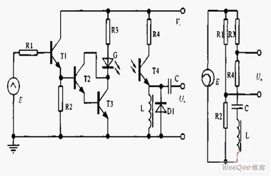 转速传感器交流型光电式与铁芯涡流式电路