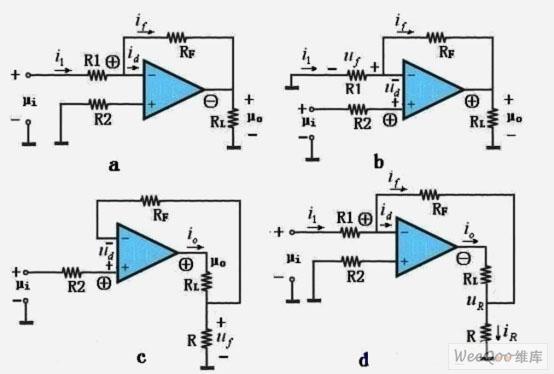 【图】运算放大器负反馈电路图运算放大电路