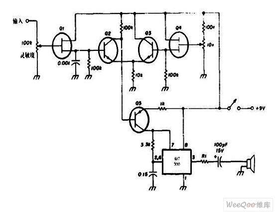 RC音频振荡器电路