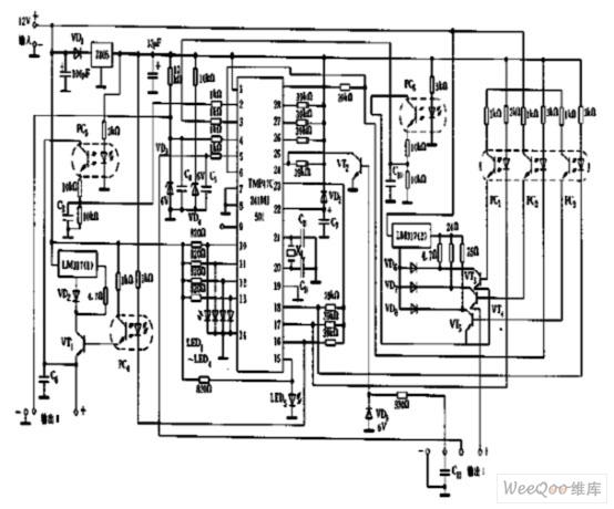 飞利浦充电器电路图